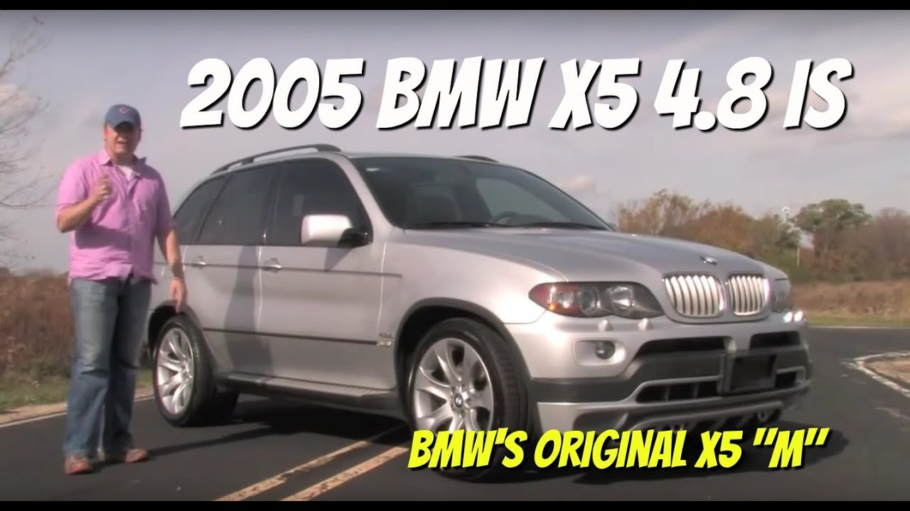 bmw x5 4.8is--video test drive with chris moran - youtube
