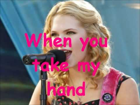 Claudia lee Take when my hand s