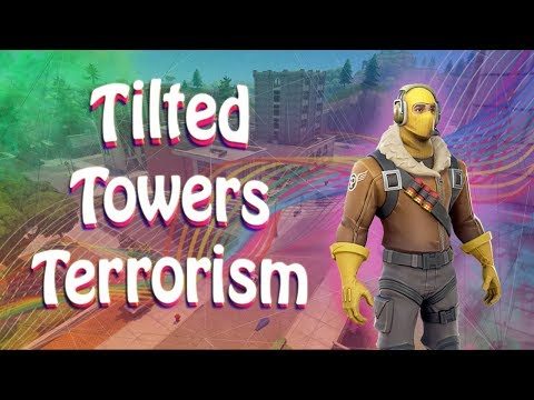 Tilted Towers Terrorism | Double Pump Destruction | #DareGrind