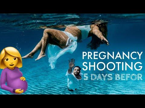 Pregnancy Shooting - 5 Tage vor der Geburt
