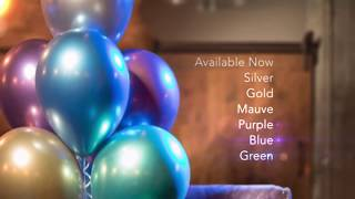 Baixar The new kind of shine, Qualatex Chrome Balloon!