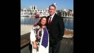 Dennis and Roseli in long beach
