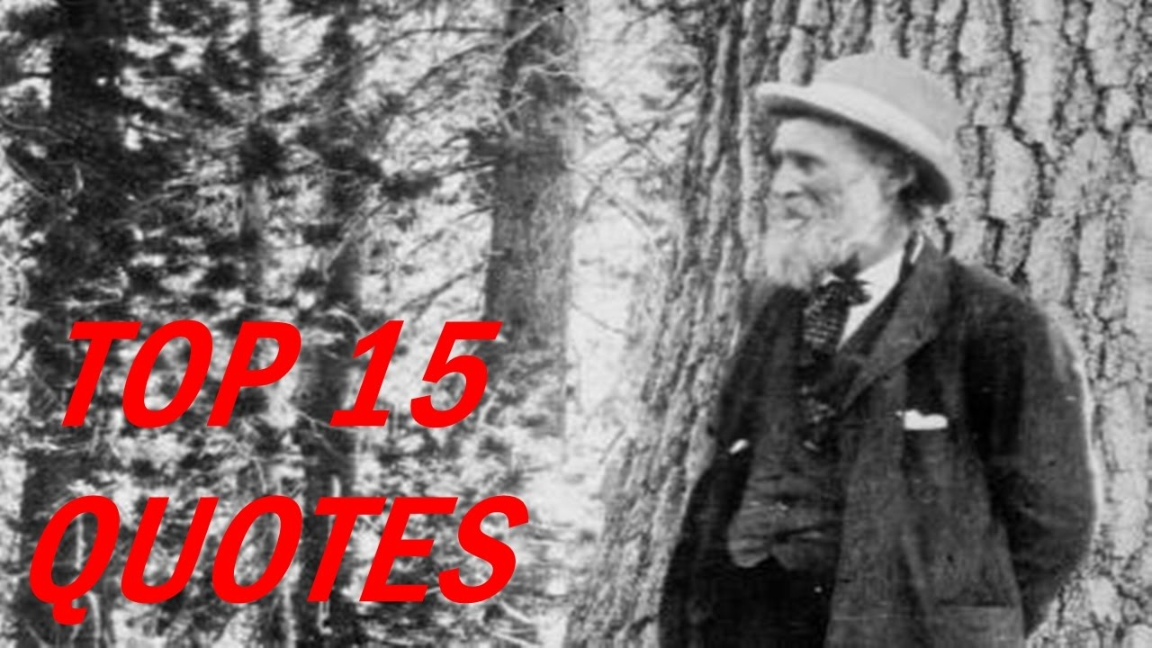 15 Popular John Muir Quotes Youtube