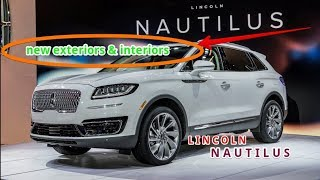 LINCOLN Nautilus Midsize Crossover In Los Angeles 2019 New Design
