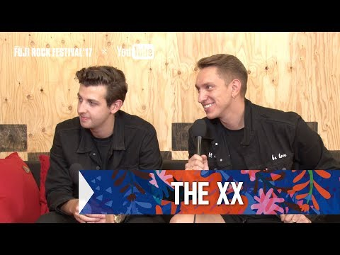 THE XX FRF'17 DAY1 INTERVIEW