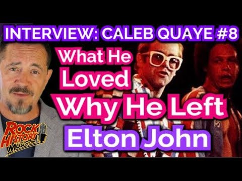 Caleb Quaye Reflect On Exciting Early Elton Days & Why He Left