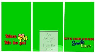 New full screen rajsthani green screen status video || new green screen marwadi status video ||