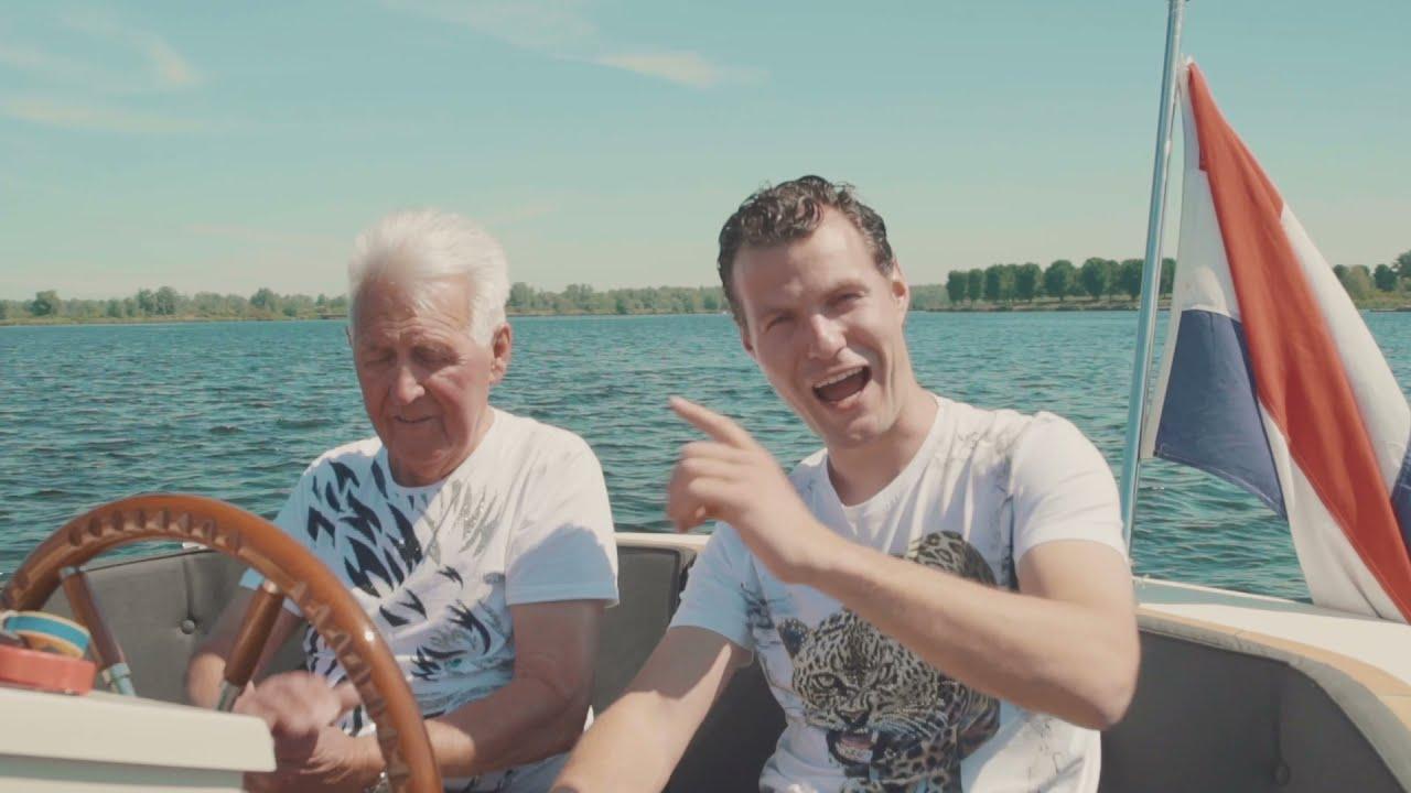 Wesley van Doesburg en Opa Wiggert - Zomer in mijn bol (videoclip)