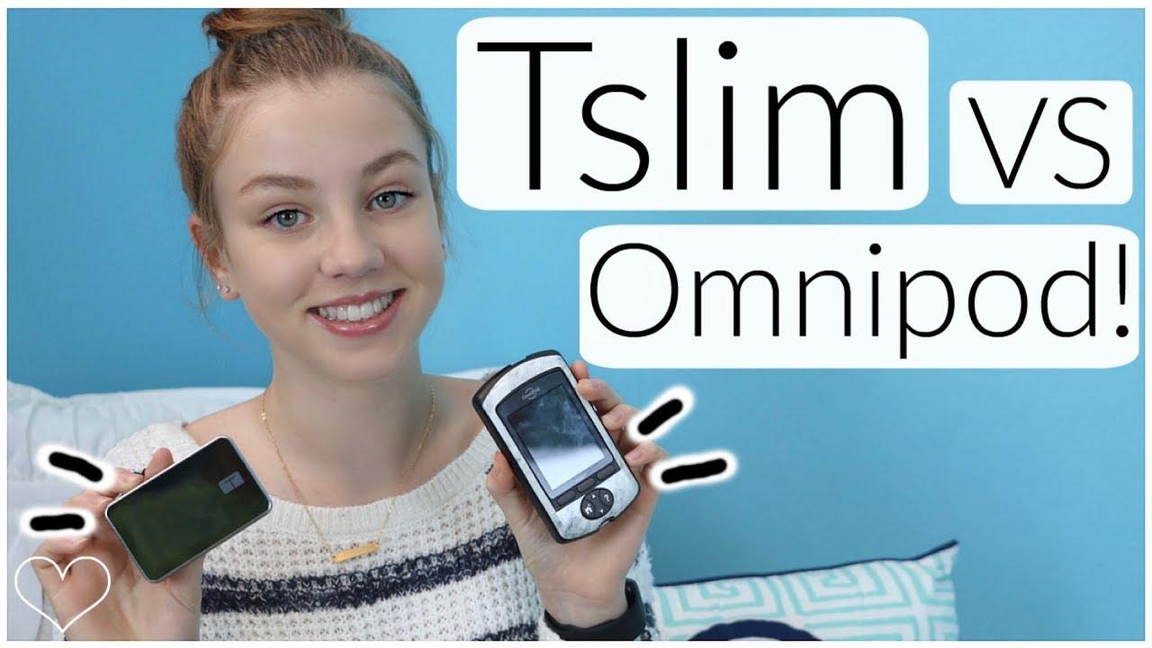 TSLIM VS OMNIPOD!! Why I Switched Insulin Pumps! | Laina Elyse