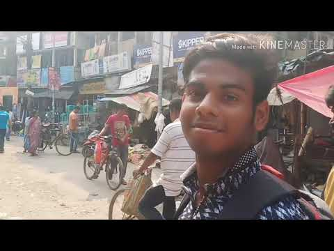 Travel in Barasat . City walkaround.