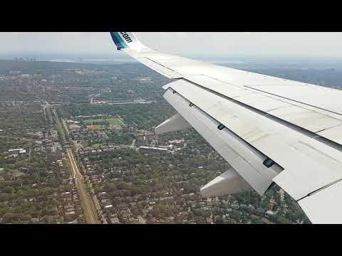 Посадка в Монреале. YWG-YUL