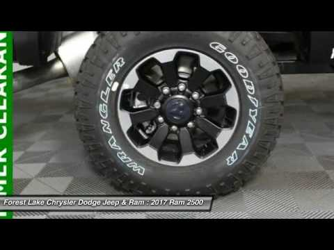2017 ram 2500 power wagon forest lake mn r17538 youtube. Black Bedroom Furniture Sets. Home Design Ideas
