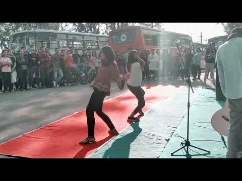 Assam University Silchar Street Show(Auskriti) 2K19||Live Raw Performances