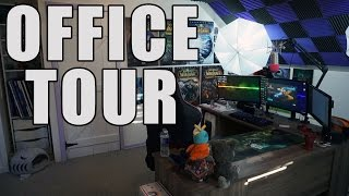 Office Tour | PC, Peripherals, Equipment & Collections | August 2016