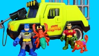 Imaginext Batman & Robin Save Animals From Bad Guys Imaginext ATV Vehicle