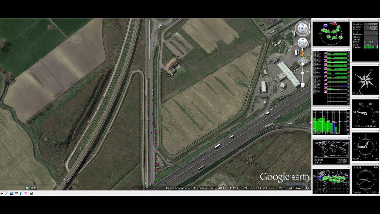 Arduino gps tracker u center con vista google earth doovi