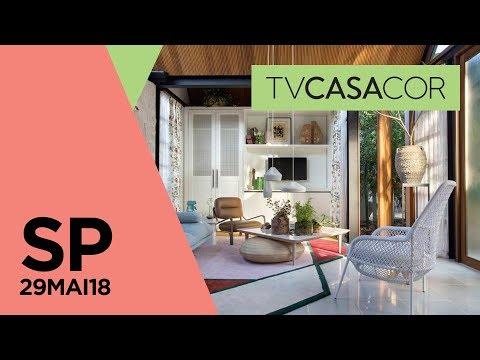 Cabana e estúdio de 29 m² na CASACOR SP 2018