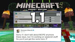 Новости о Minecraft PE 1.1 | Секретная Работа Томмаса