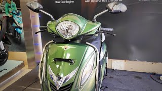 2019 Yamaha Fascino UBS || New Color || Honest Review