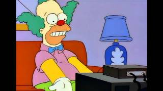 The Simpsons - Krusty Bets on The Generals