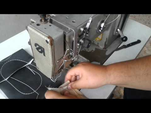 Máquina para costurar couro Durkopp Adler 267