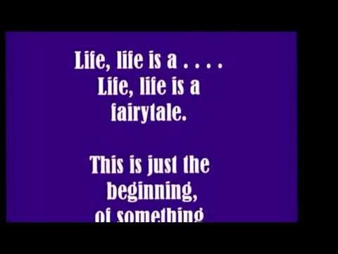 Tiffany Giardina - Life Is A Fairytale