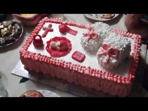 Торт На Крестины Девочке! ~ Моё Хобби ~ Оля Мельченко