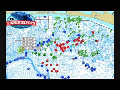 Destin Florida Offshore Fishing Spots