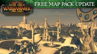 Total War: WARHAMMER 2 - Steps of Isha Maps Spotlight