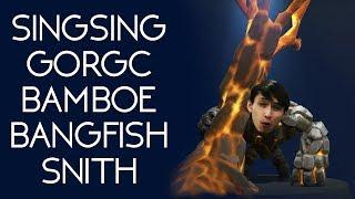SING GORGC BAMBOE BANGFISH SNITH (SingSing Dota 2 Highlights #1032)