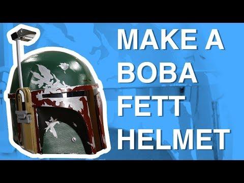 Make a Star Wars Boba Fett Helmet : DIY How-To