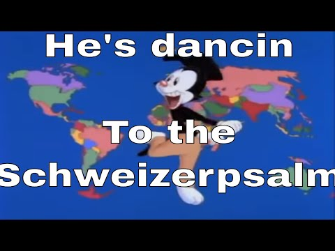 Yakko's Nations of the World but it Plays the National Anthem of Every Country