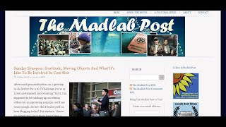 On What Inspired The Madlab Post | My Blogging #AtoZChallenge Co-Host Profile
