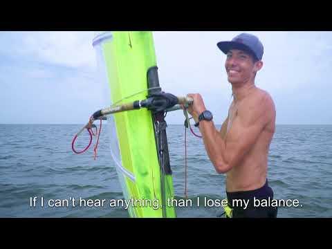 Windsurfer Joris van Essen about Alpine SurfSafe earplugs