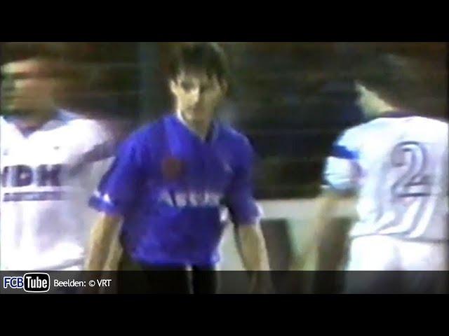 1990-1991 - Jupiler Pro League - 23. Club Brugge - AA Gent 0-1