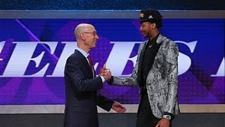 Los Angeles Lakers Take Brandon Ingram Second in 2016 NBA Draft by : NBA