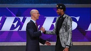 Los Angeles Lakers Take Brandon Ingram Second in 2016 NBA Draft by : NBA