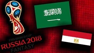 2018 RUSSIA FANTASY VB | SZAÚD-ARÁBIA - EGYIPTOM