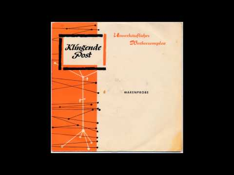 Klingende Post 13 mit Camillo Felgen (1959)