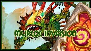 Hearthstone: Murloc invasion (murloc paladin)