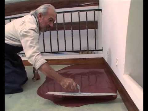 sol b ton cir coul bricolage avec robert youtube. Black Bedroom Furniture Sets. Home Design Ideas