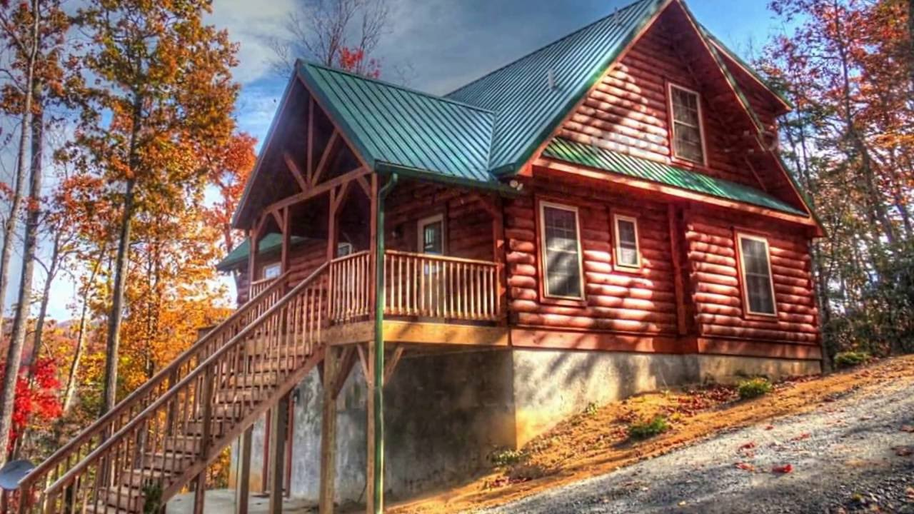 in rental banner tennessee rentals ski peaceful lazy roan cabin bear on winter its cabins vacation setting elk mountain lodge find acre