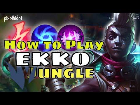 How to Play Ekko Jungle - New to Champ Series