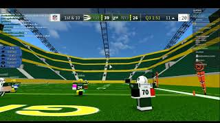Roblox Legendary Football #1, Packers vs Jets