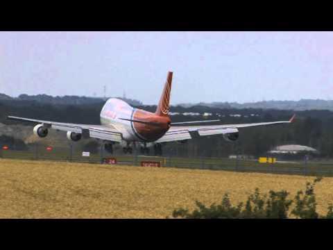 Praha Ruzyne AIrport, PRG, Boeing 747 Air Cargo Global