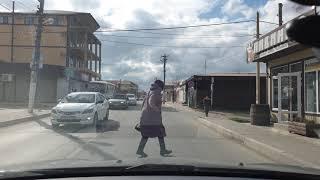#ВИТЯЗЕВО ул Черноморская в 4к на машине