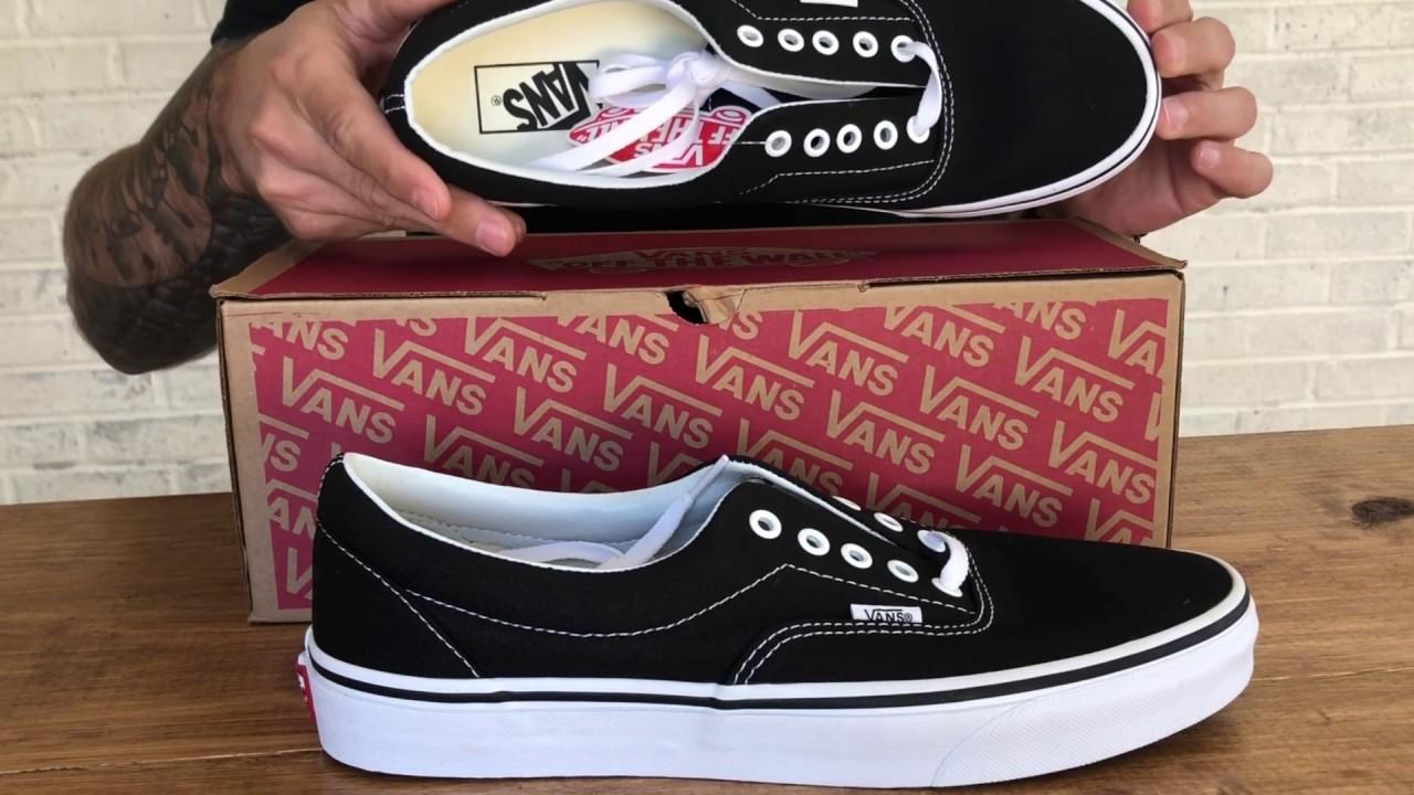 Vans Era (Black) Unboxing + On Feet