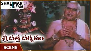 Shri Datta Darshanam Movie || Venkateswara Rao Asking To Show Ramana Murthi Scene || Shalimarcinema