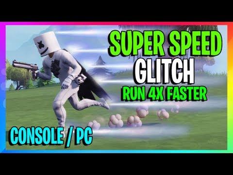 Fortnite: FAST RUN GLITCH! LEGIT Run 4x Faster In Fortnite! Season 7