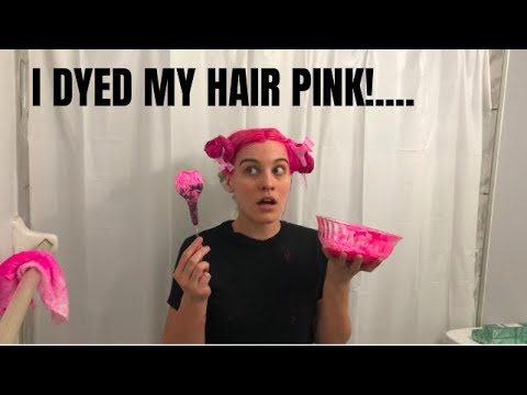 PINK HAIR TUTORIAL [ ION COLOR BRILLIANCE ]